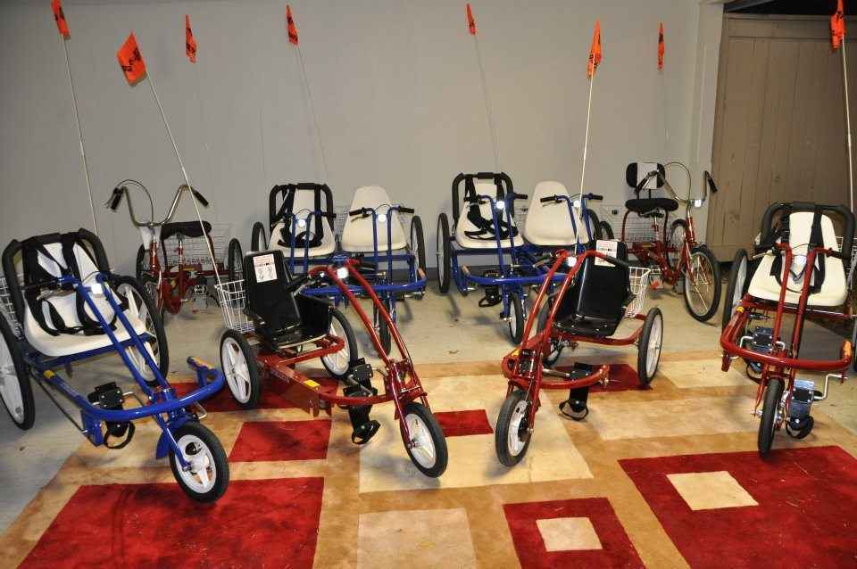 Help us give bikes to people with special needs! image