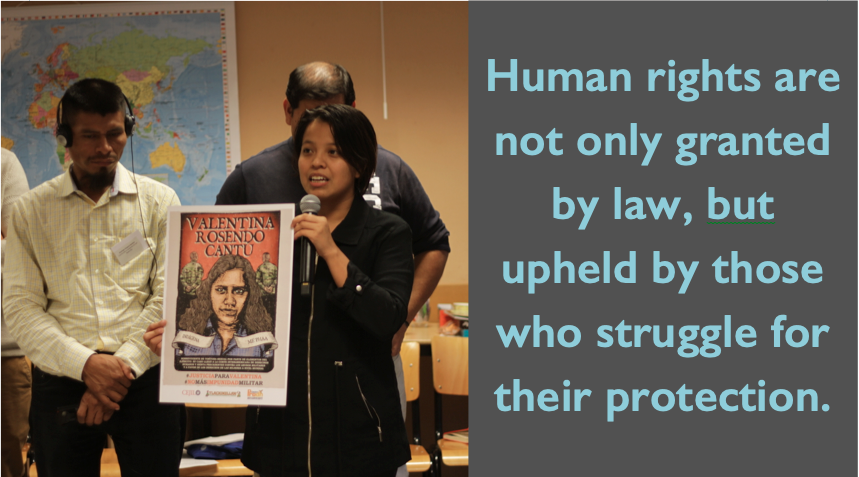 Support the Protection of Threatened Human Rights Defenders image