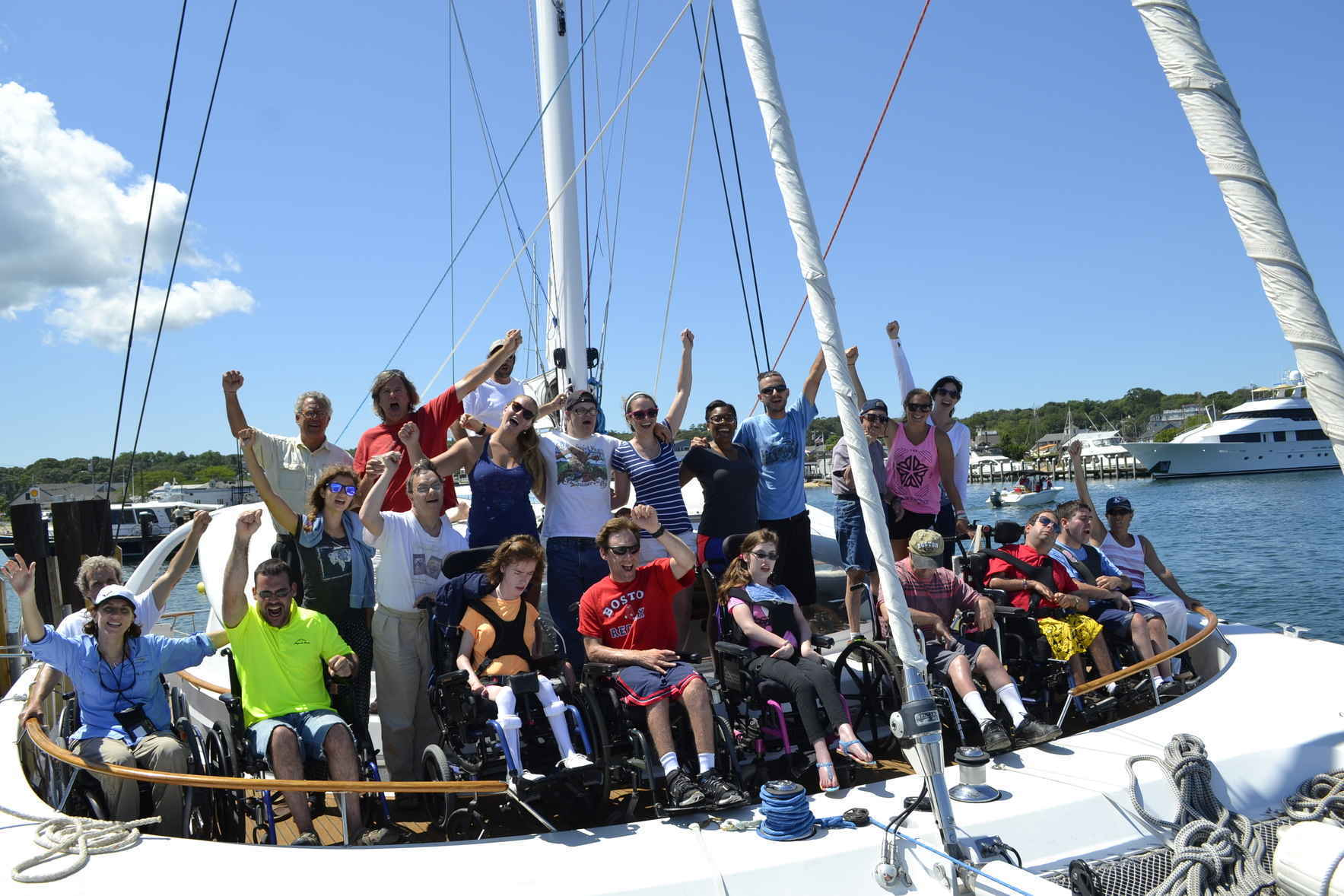 Please help us to bring the joy of sailing to those with life-changing disabilities. image