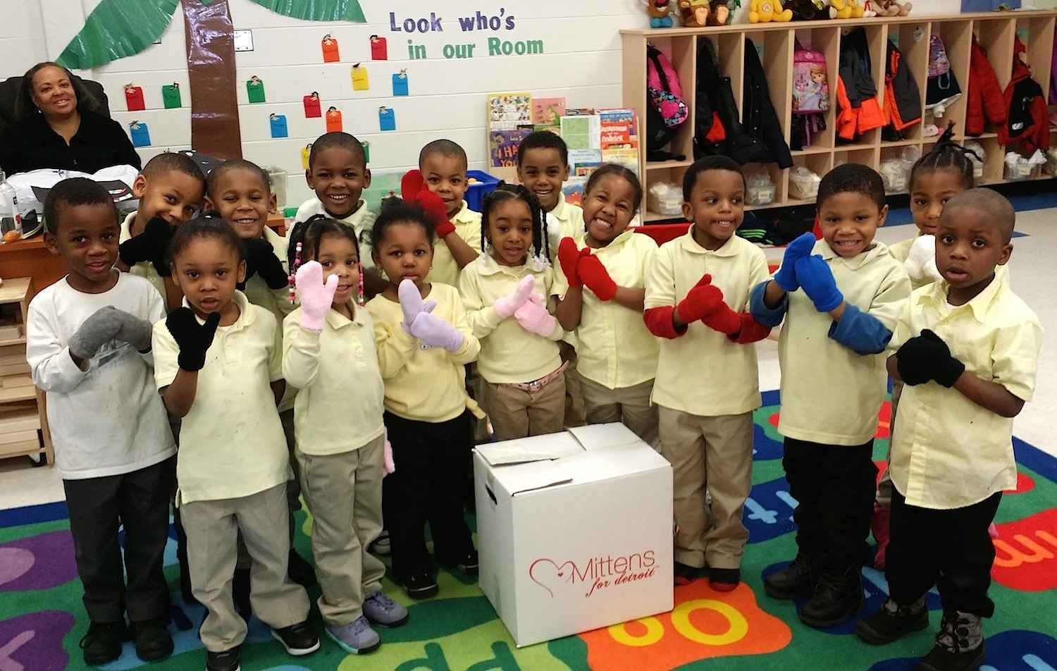 Warm the hands of children, teens, and adults in need in Detroit! image