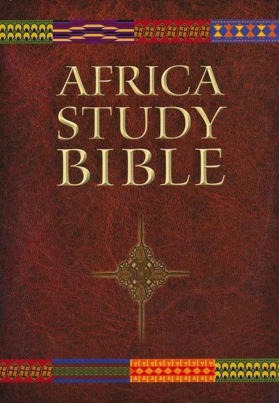 Provide an Africa Study Bible for Christian Leaders in West Africa image