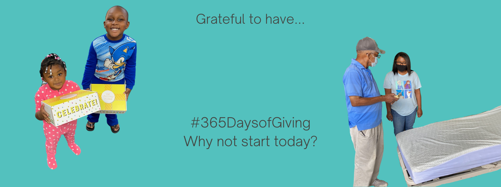 365 Days of Giving image
