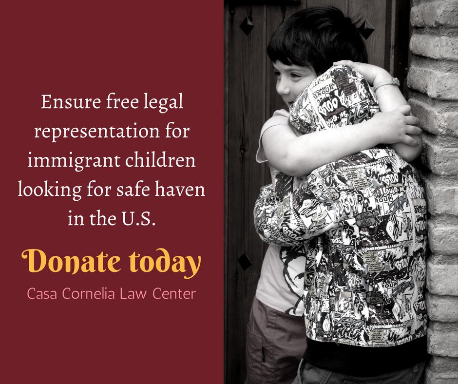 Help Casa Cornelia ensure pro bono legal services for children image