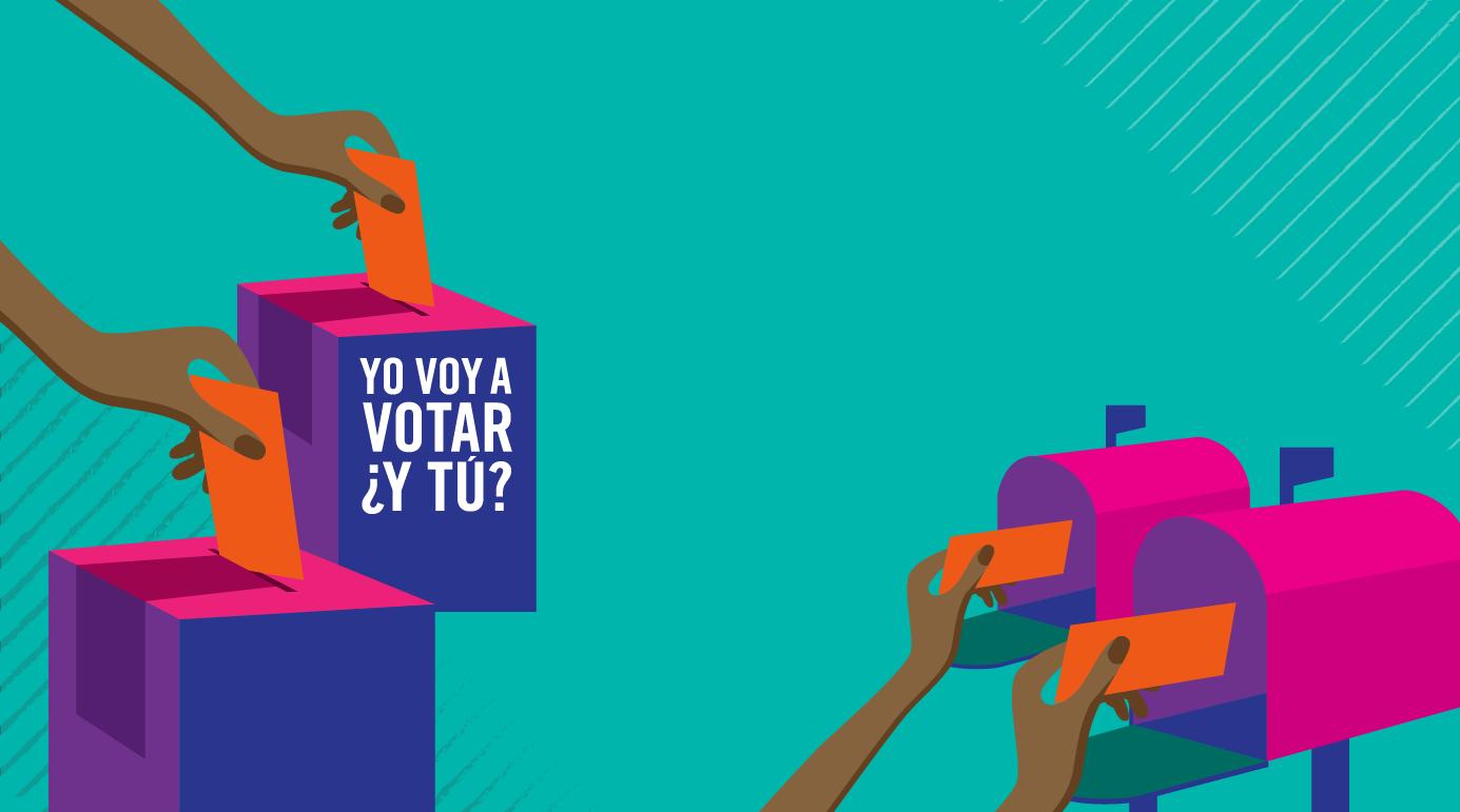 Yo Voy a Votar ¿Y Tú? • I'm Going to Vote, Are You? image