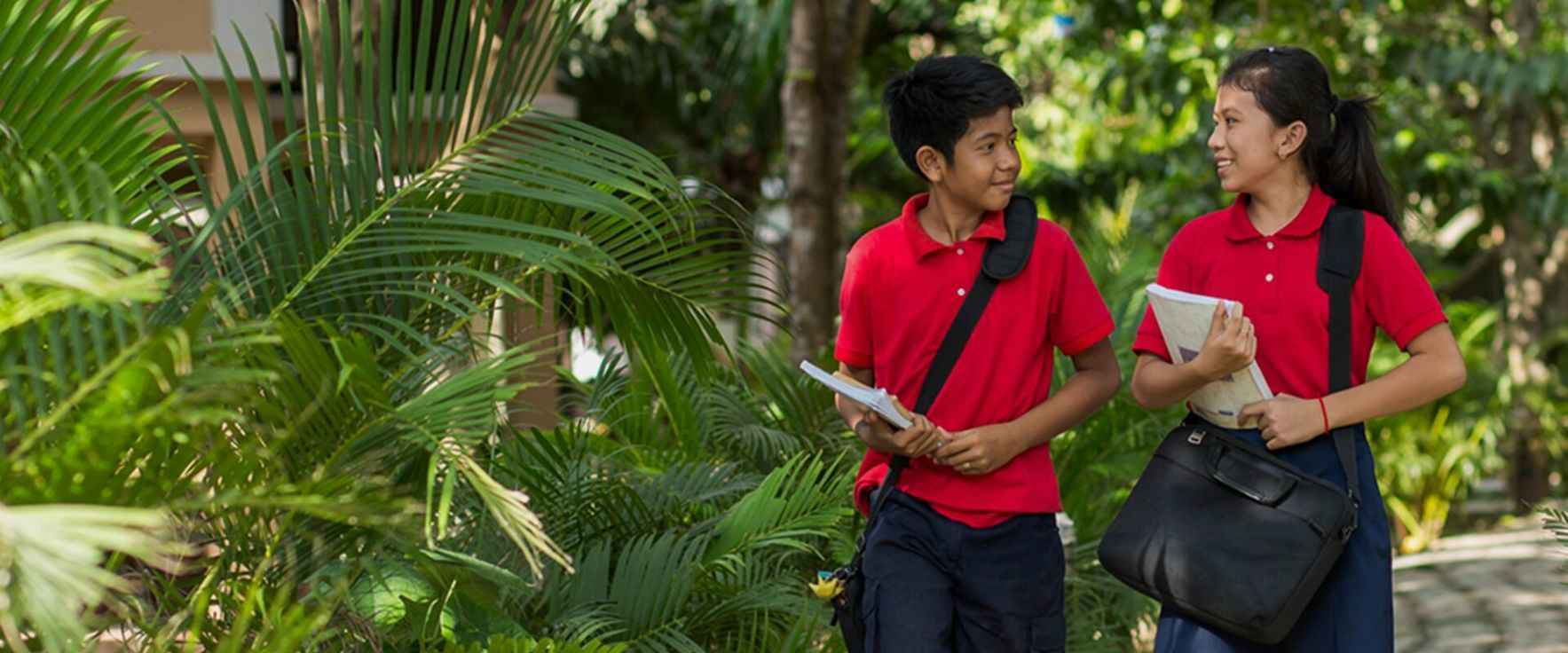Every donation supports a future Liger leader of Cambodia. image