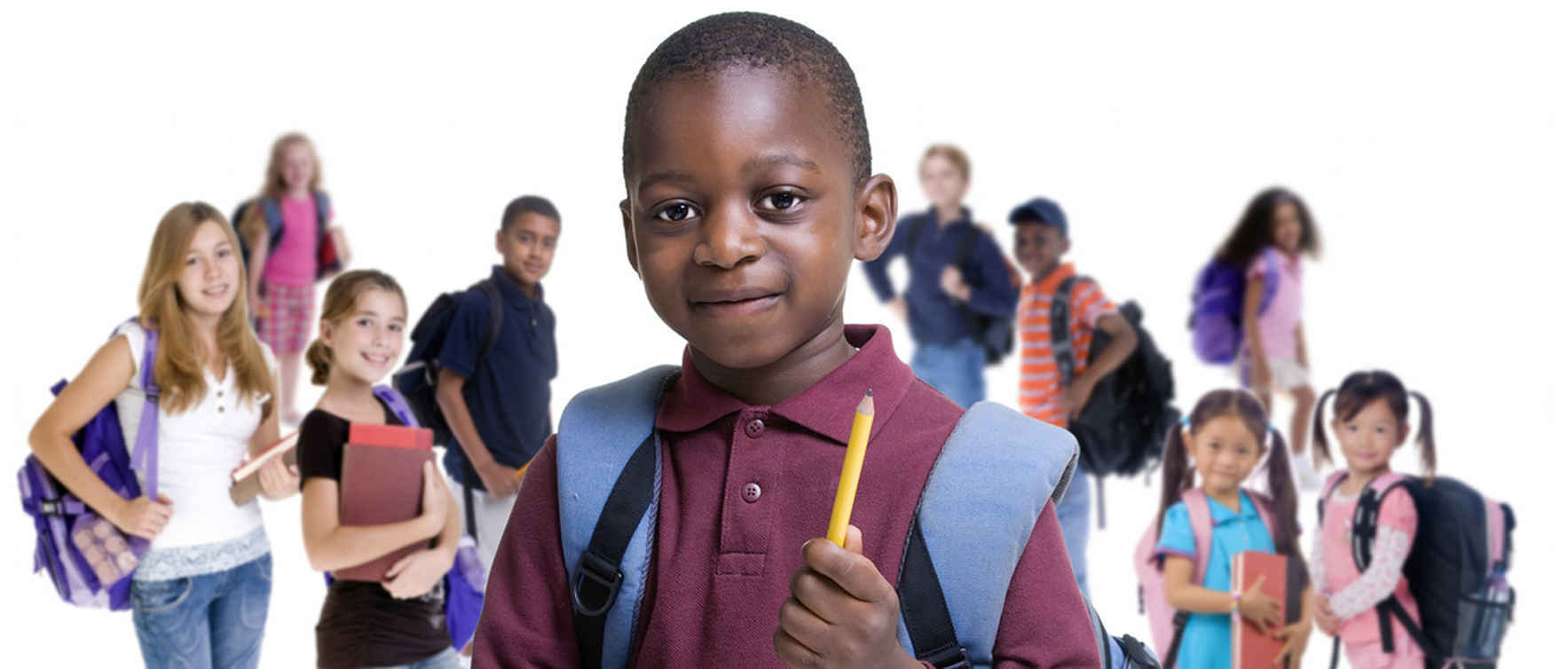 Provide school supplies for students in shelter image