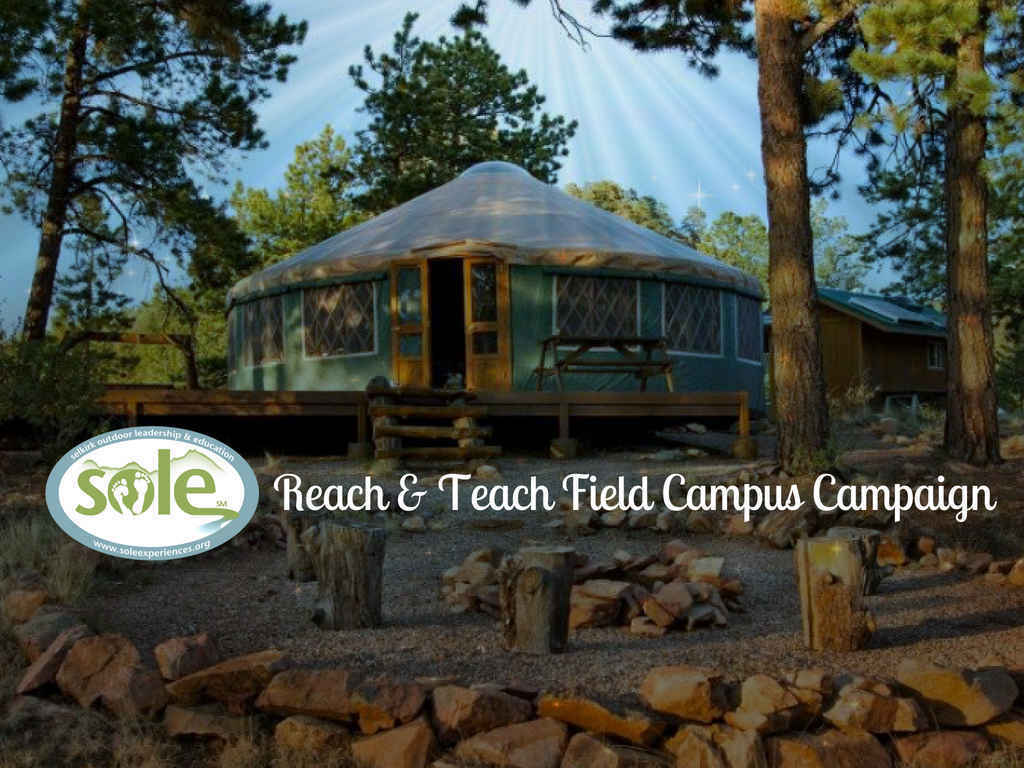 Help SOLE develop and maintain our Mountain Field Campus sites to serve underserved rural youth! image