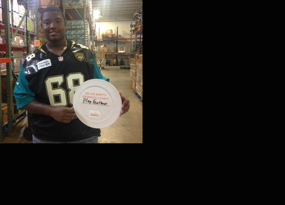 Join Kelvin Beachum to fight hunger in Northeast Florida image
