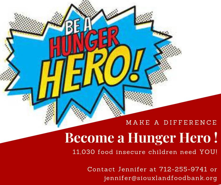 Make an impact, become a Hunger Hero! image