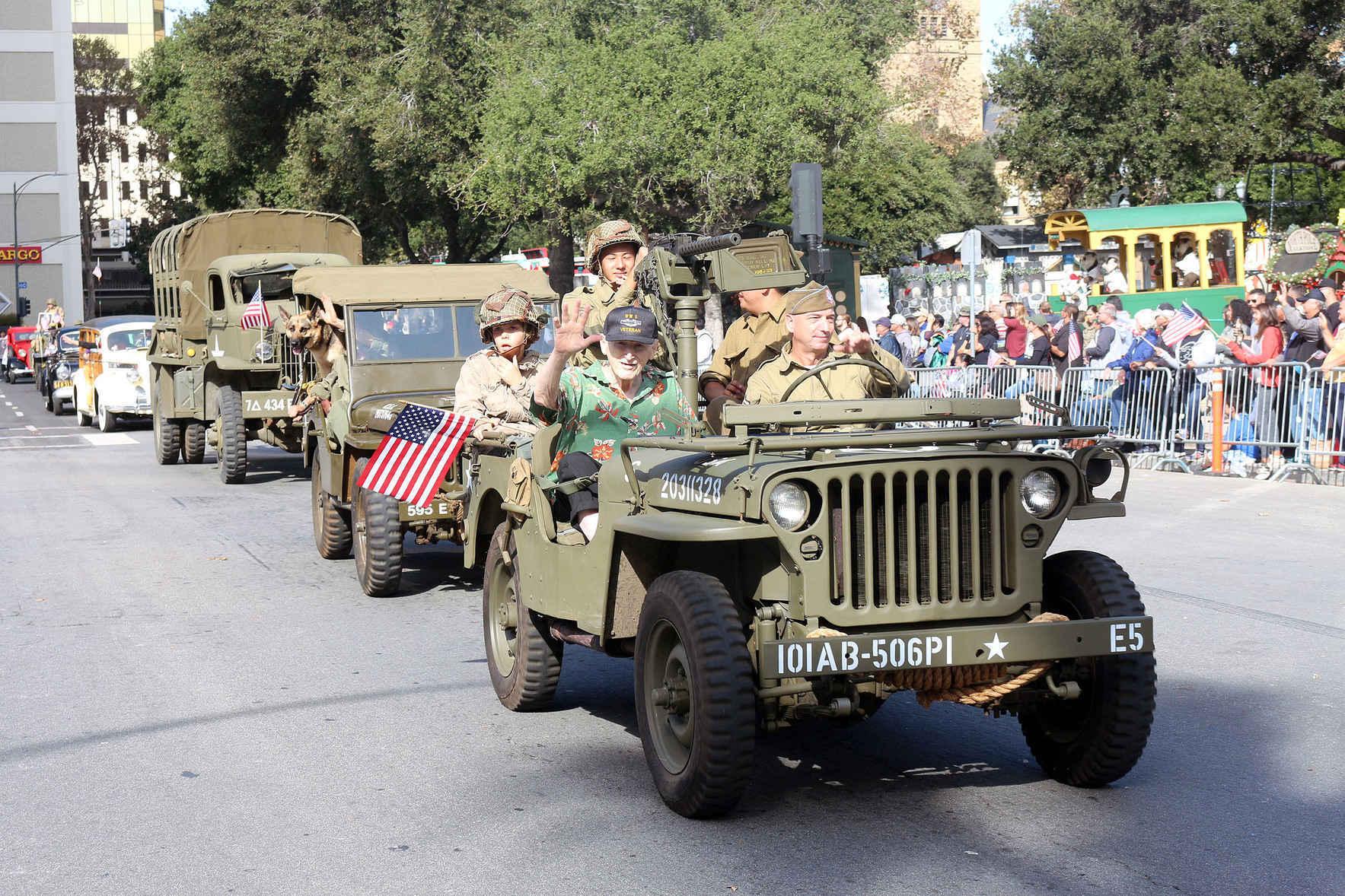 Help Support San Jose's Veteran's Day Parade image