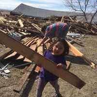 Working alongside the Lakota People of Pine Ridge Indian Reservation we will deliver firewood across the reservation, complete the construction of a home for a Pine Ridge family and repair and winterize homes damaged in a July hailstorm. image