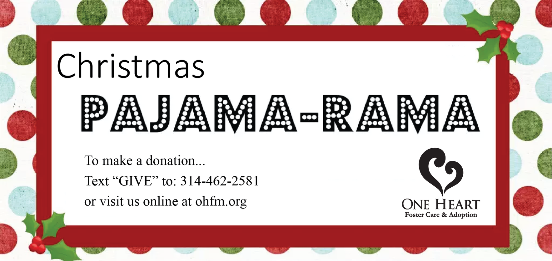 Give today to bless children impacted by foster care for Christmas image