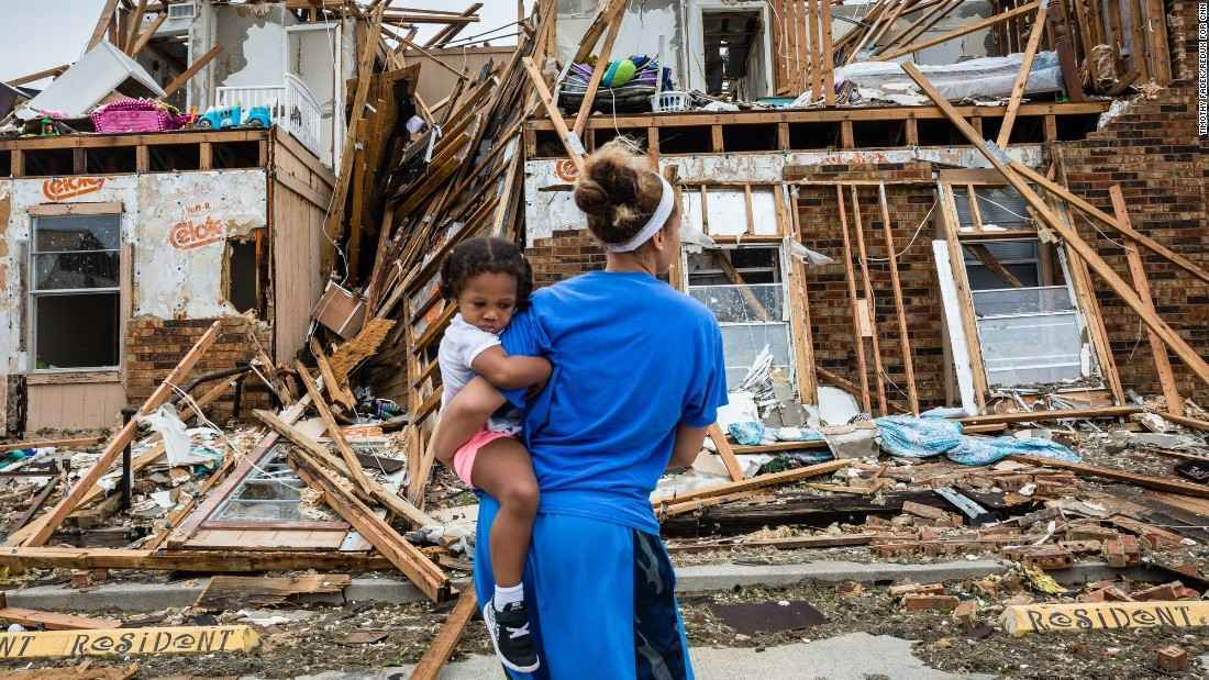 Sponsor a pallet (2,016 bottles) of Promise Water for the victims of Hurricane Michael.  image