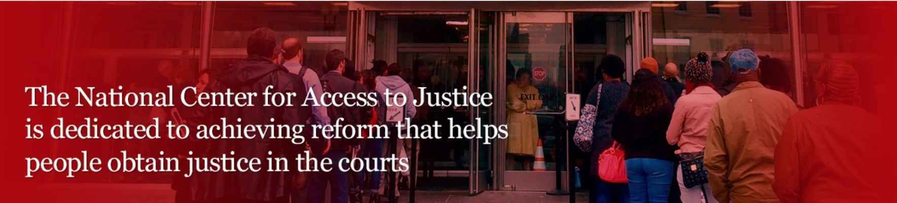 National Center for Access To Justice Inc image