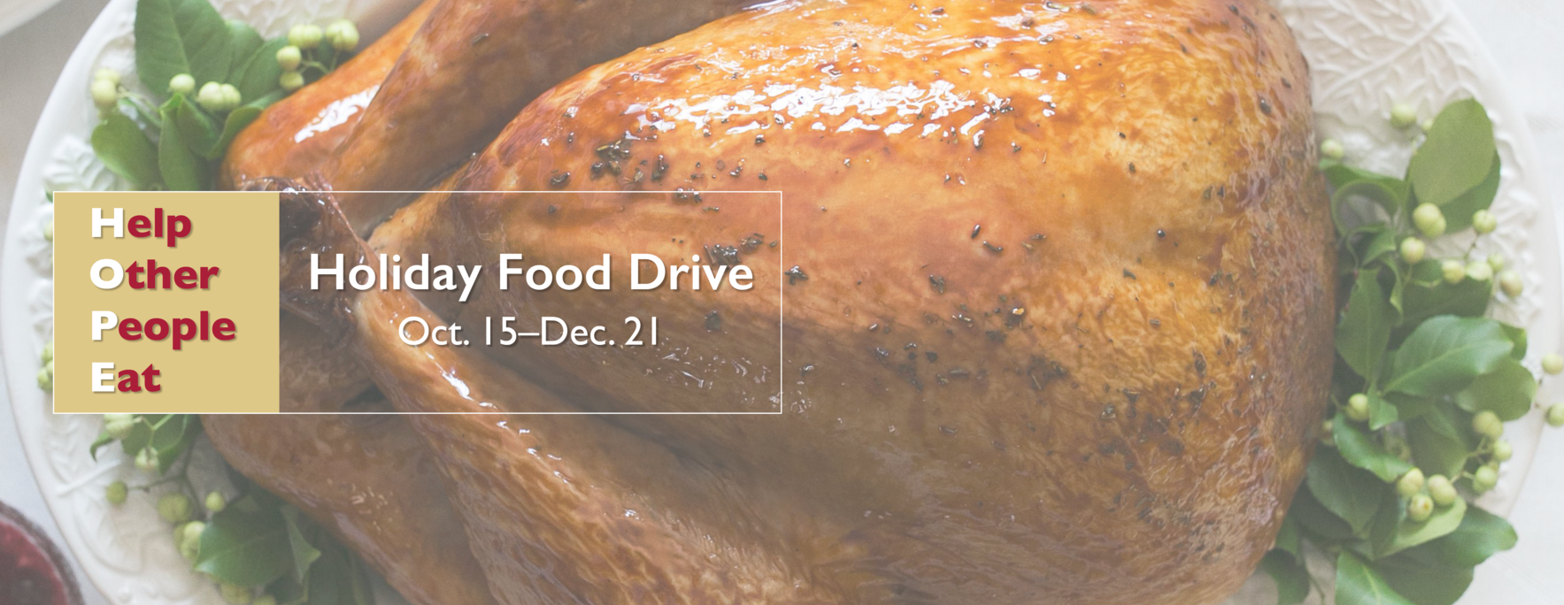 Help Other People Eat with a generous $30 donation.   image