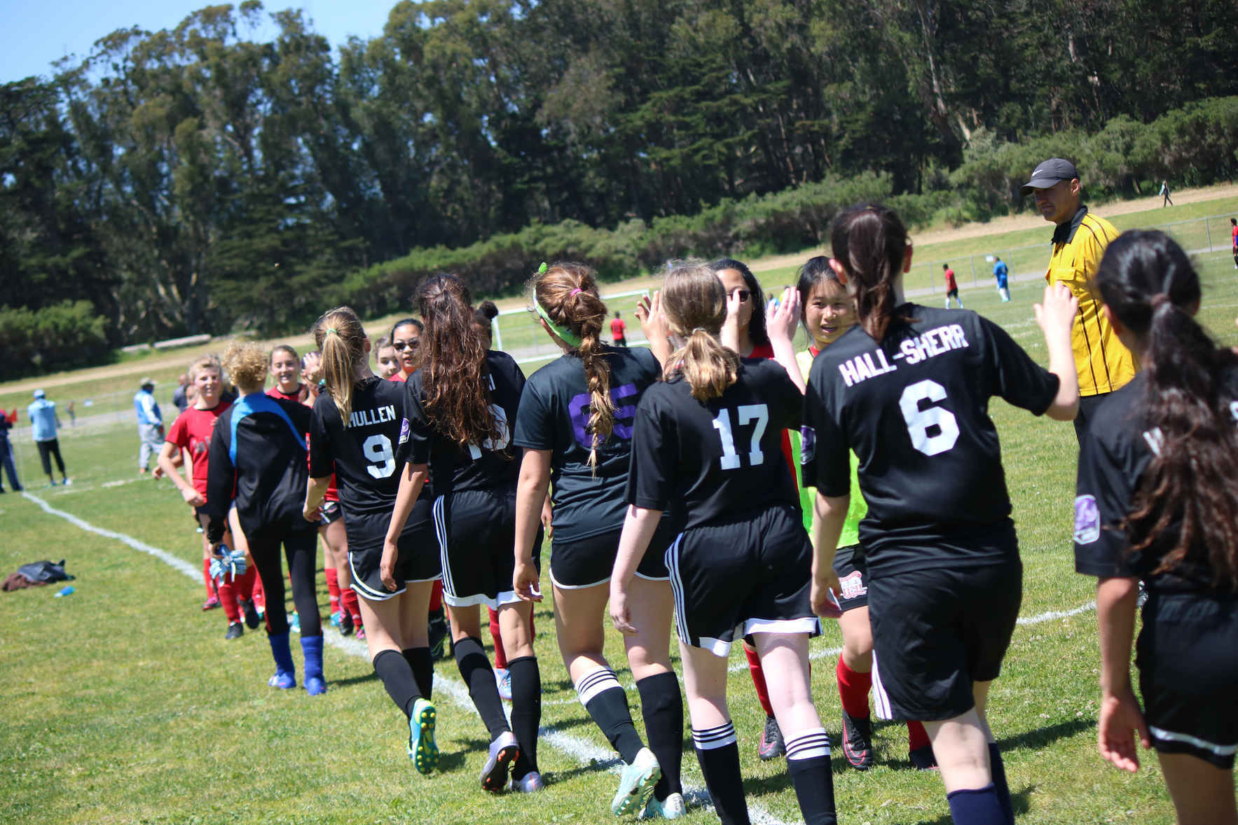 Girls Unite gives girls permission to compete and to thrive in community.  image