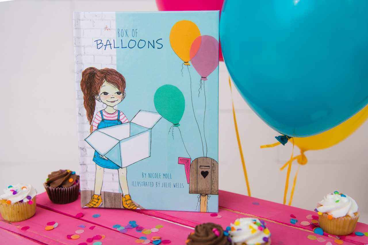 Box of Balloons- Children's Book image