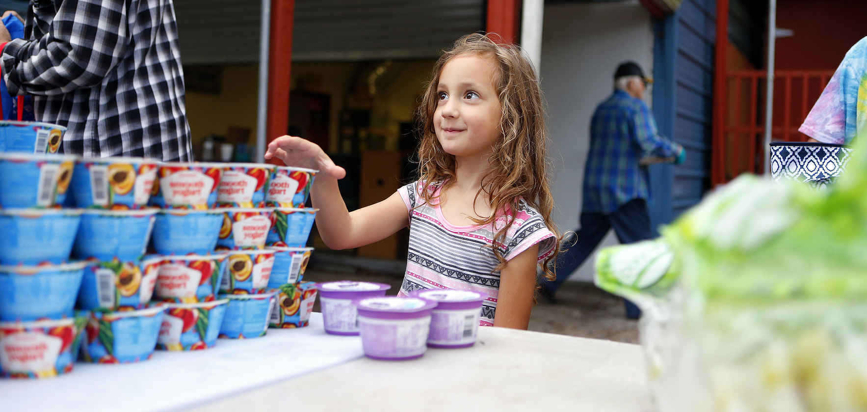 Help provide food to families in Northeast Florida  struggling with hunger image