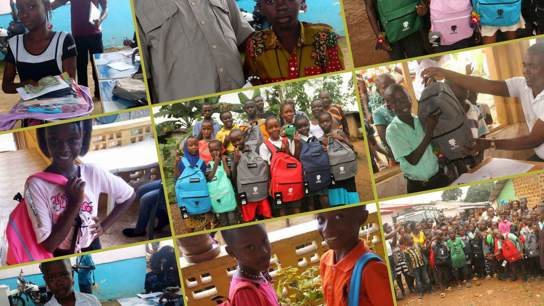 Your impact: $28.26 = new school uniform and school supplies for a year for a student in Liberia or Ghana image