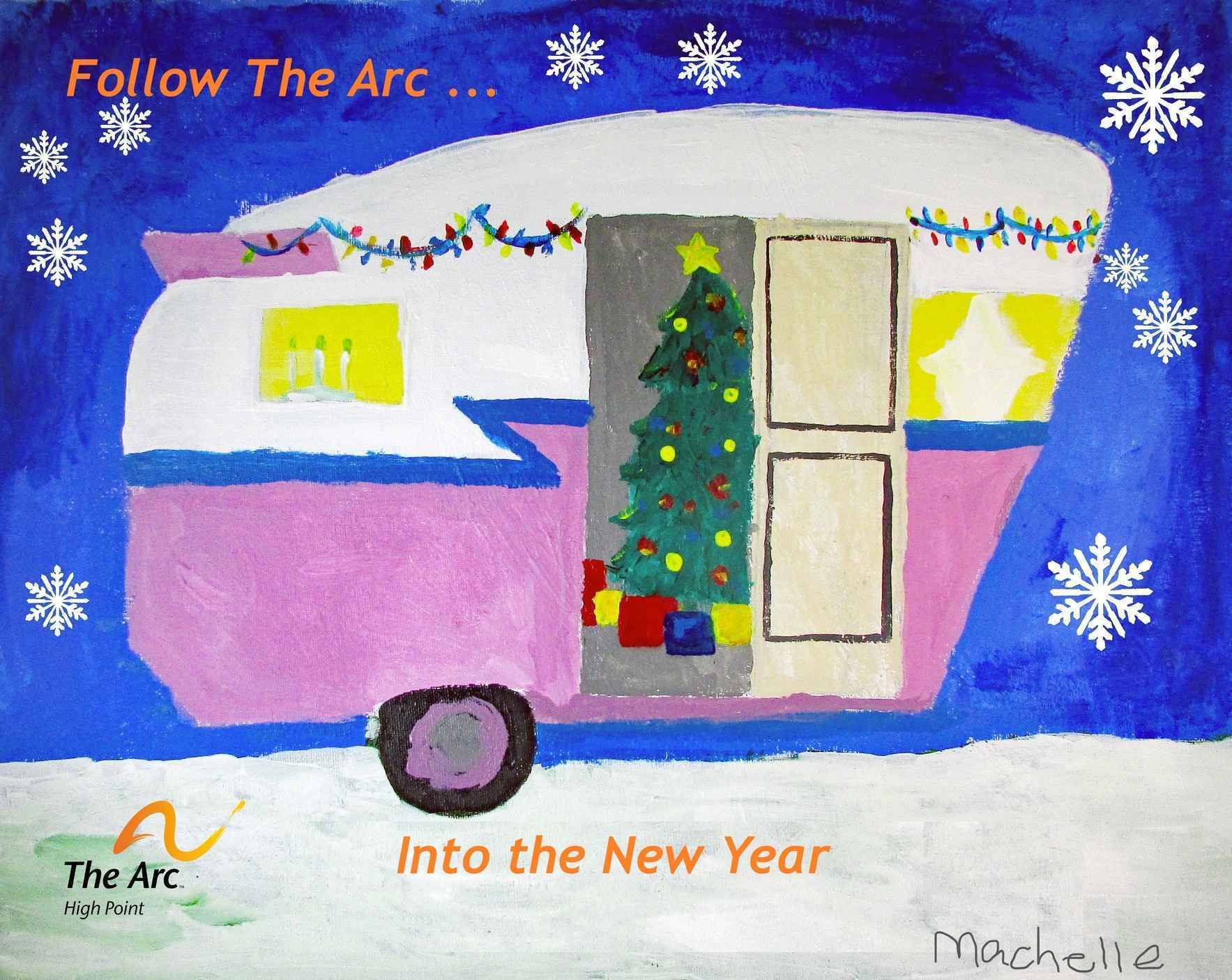 Follow The Arc into the New Year...Support People with Intellectual and Developmental Disabilities in Our Community image