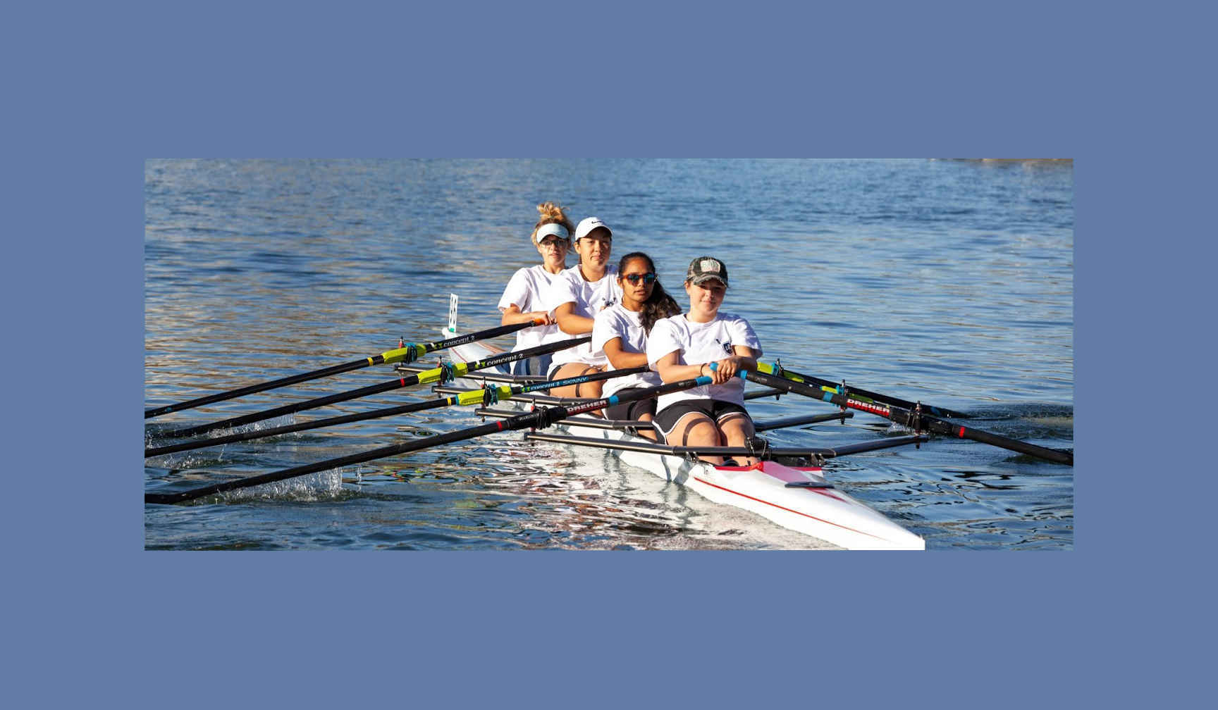 Help us buy a new quad sculling boat - our program is growing. image