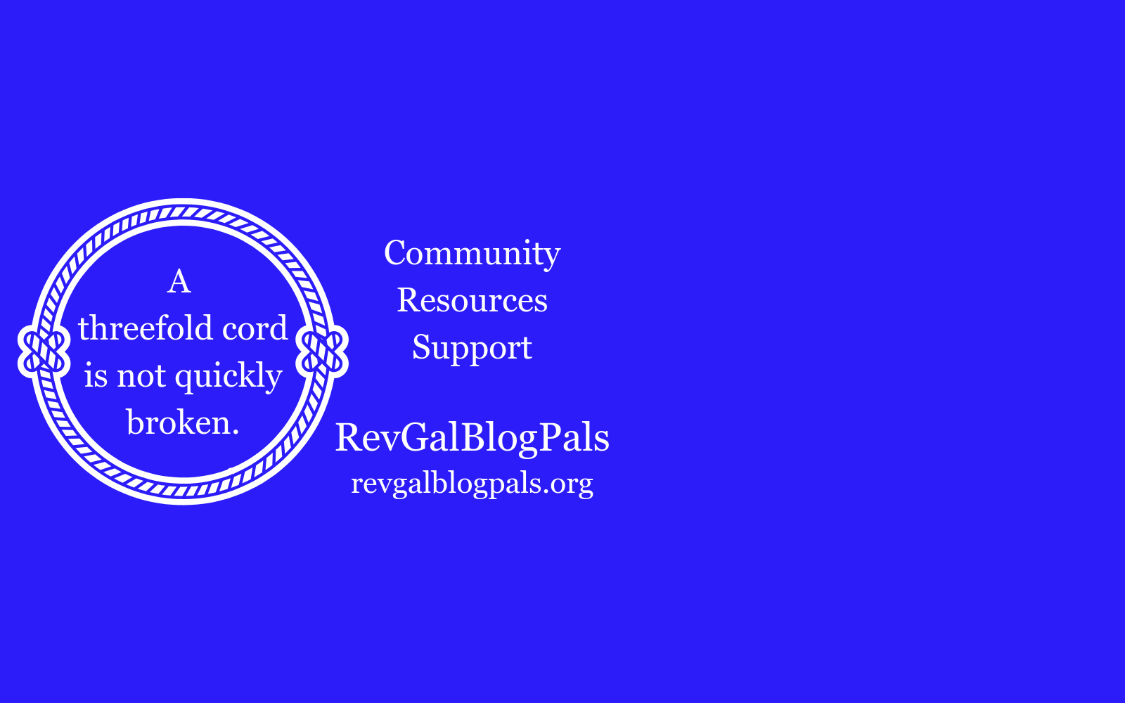 Help RevGalBlogPals create resources, provide support, and strengthen community for clergywomen image