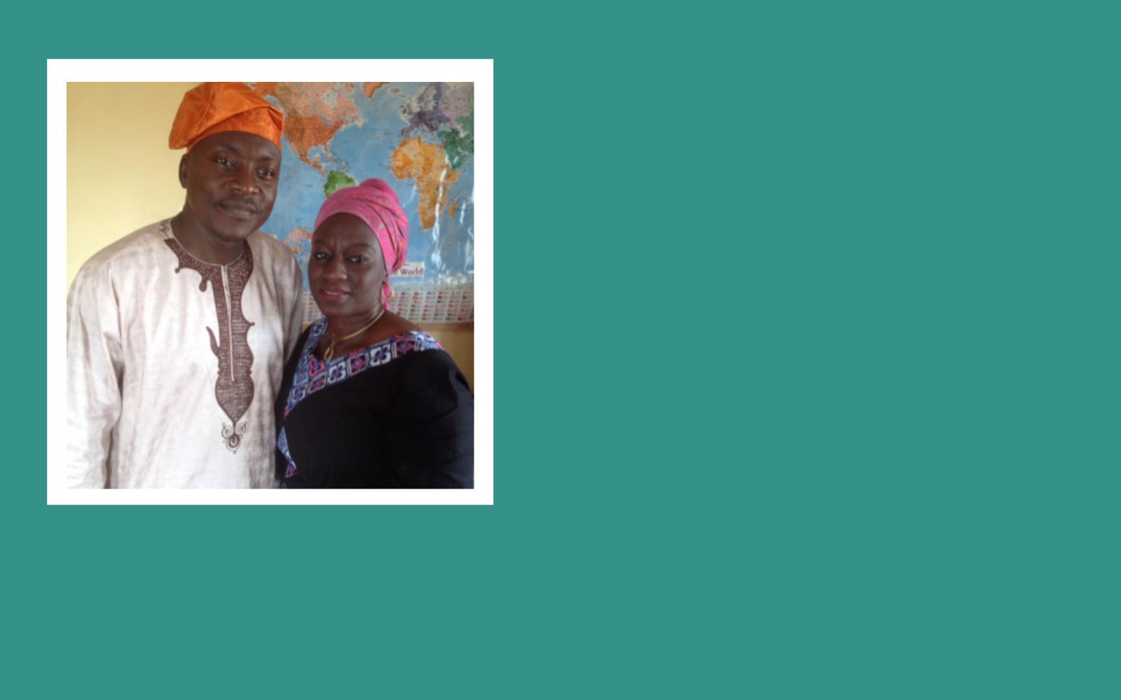 Support Martin and Shade Atanda's work to bring help and hope. image