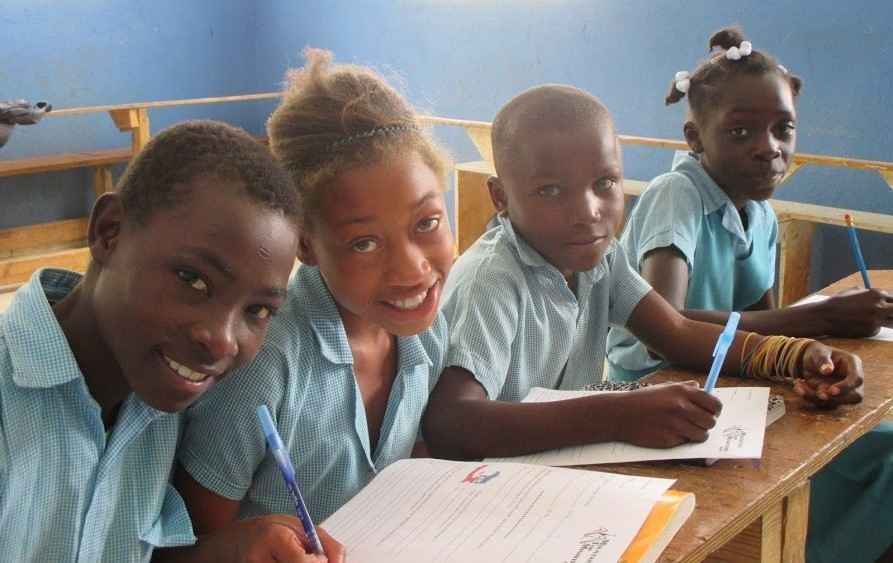 Give the life-changing gift of education to a child in Haiti image