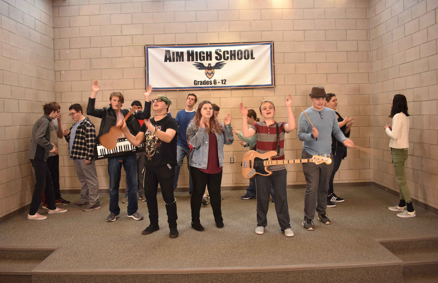 Come Together for our Students and Support Aim High! image