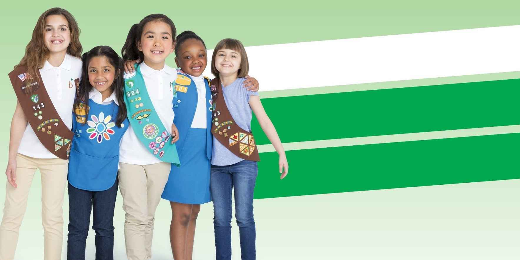 Give the gift of Girl Scouting image