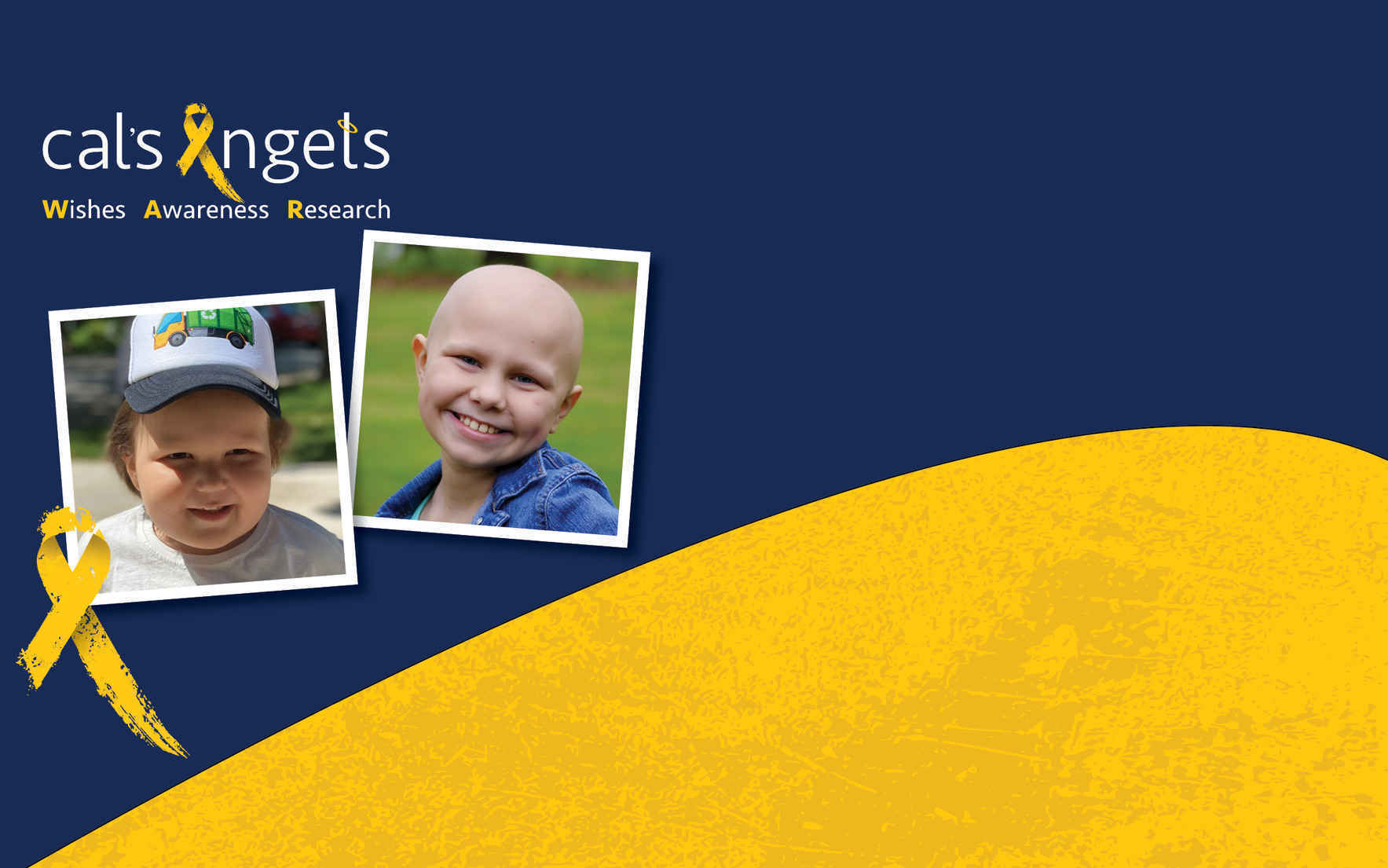 Donate today to join the WAR against Pediatric Cancer! image