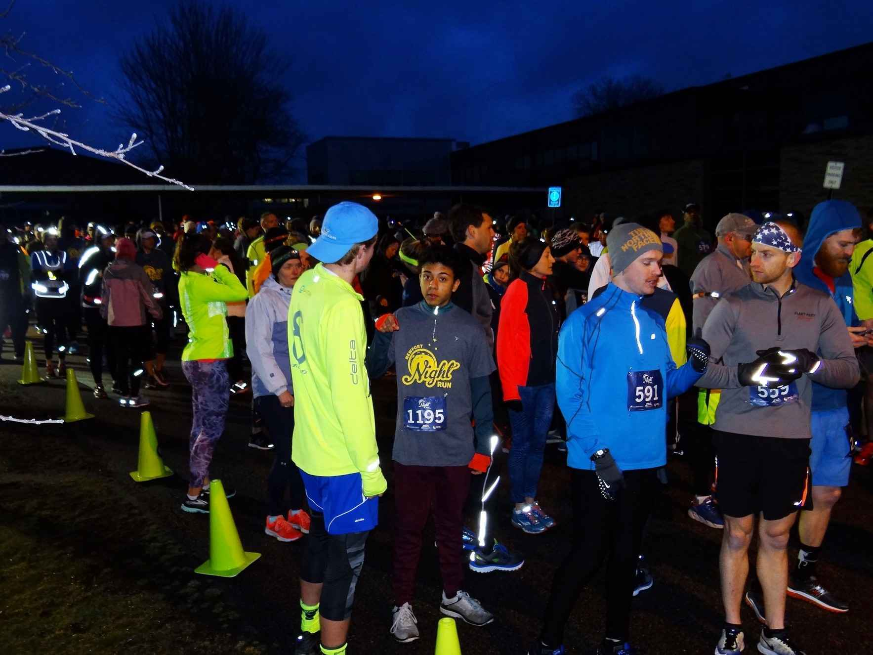 Sponsor the 2019 Newport Night Run for Education image