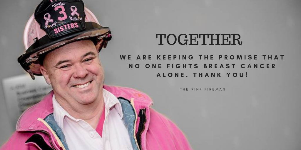 Give today to make a difference tomorrow in the life of someone affected by breast cancer. image