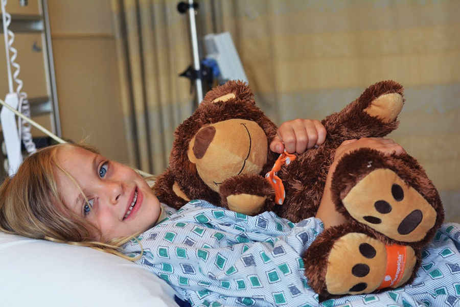 Send a Cuddly Bear to a Hospitalized Child this Valentine's Day. image