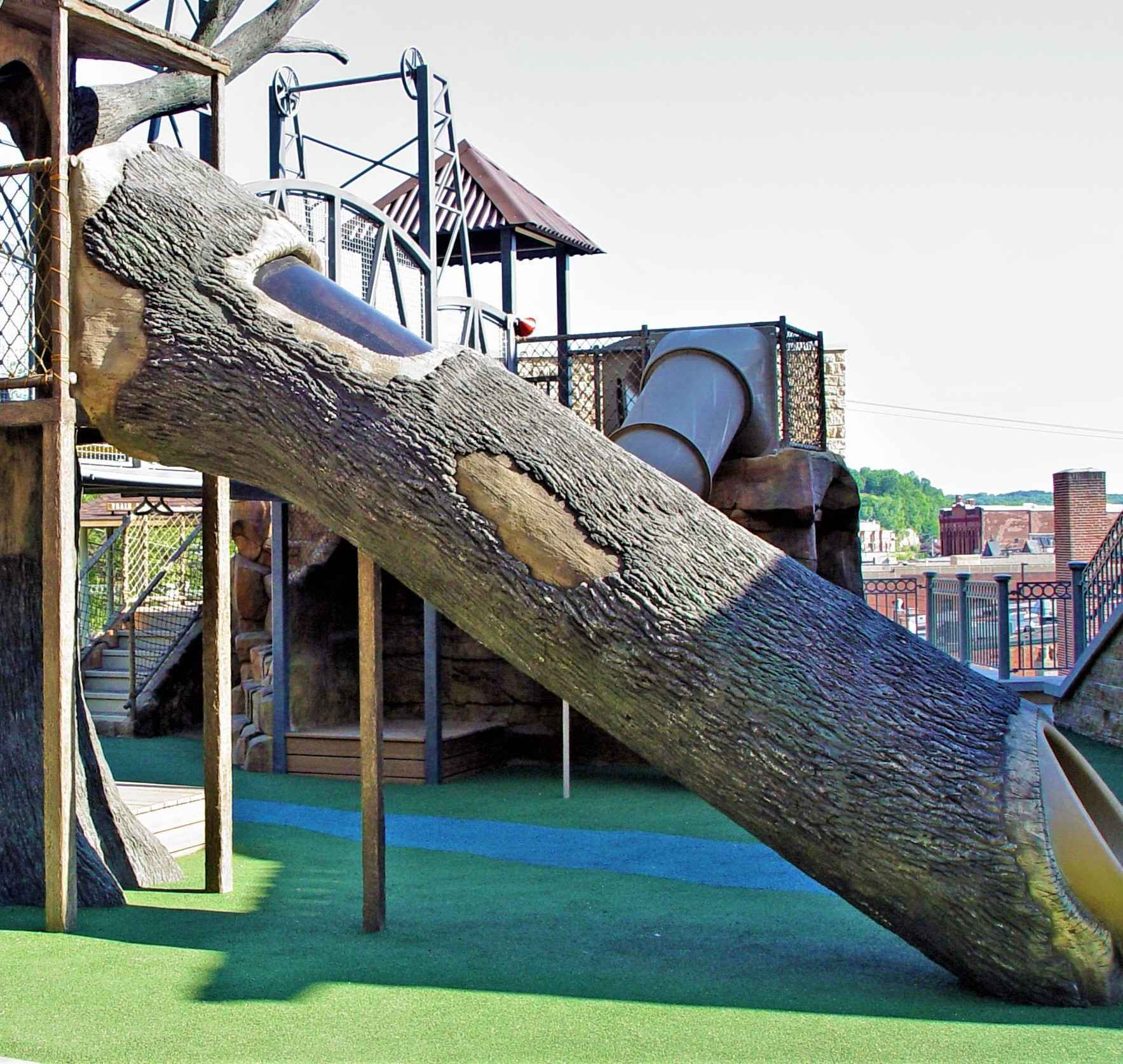 YOU can help us raise $3,000 in 30 days for the Children's Canopy Walk Log Slide! image