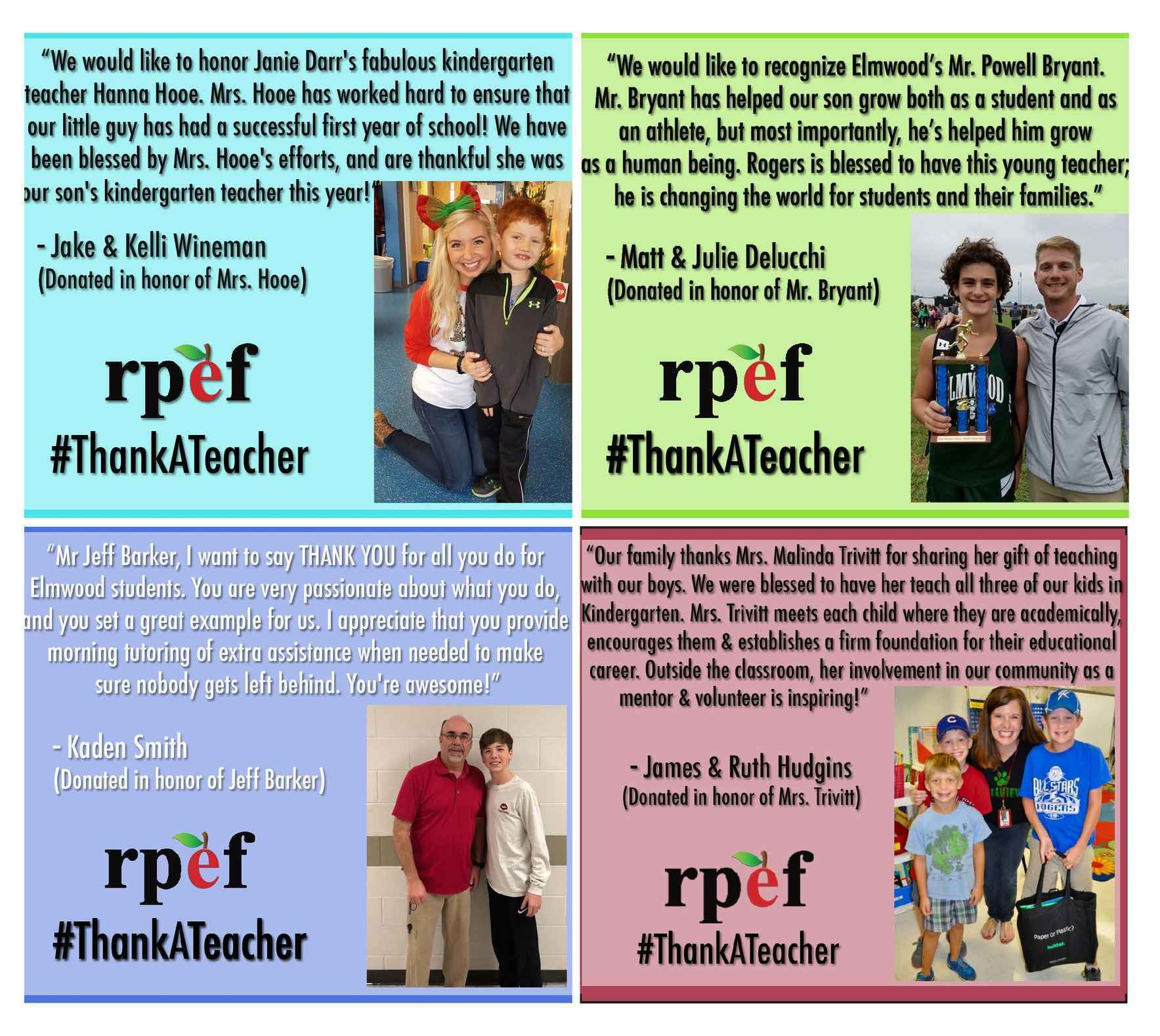 """Take time to say """"THANK YOU"""" to a deserving teacher! image"""