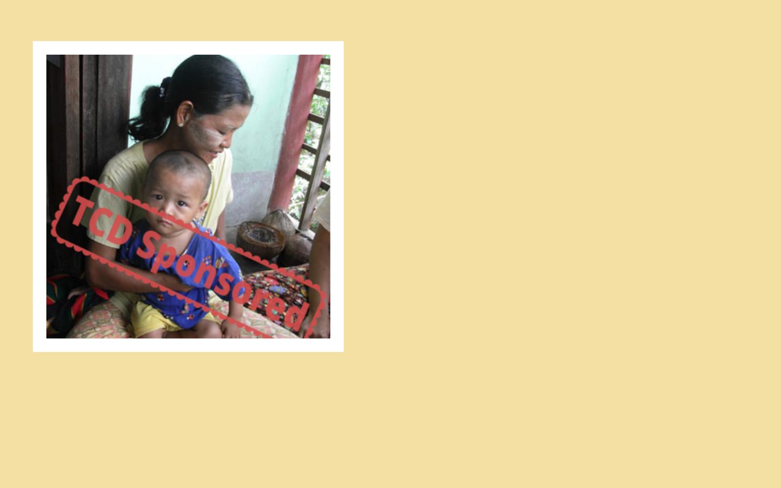 I'll bring help and hope to Myat Hlae Village image