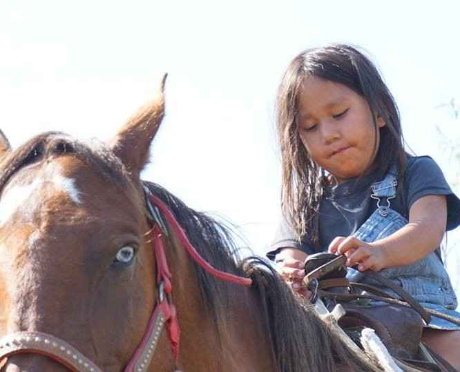 Donate now to provide food to families on the Pine Ridge Indian Reservation in South Dakota. image