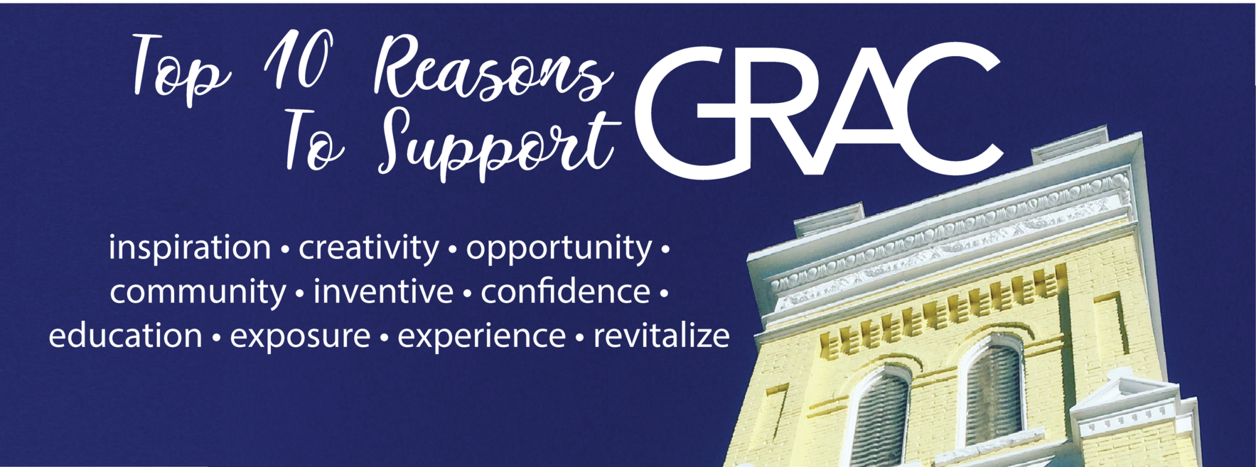 Support the GRAC in 2019 image