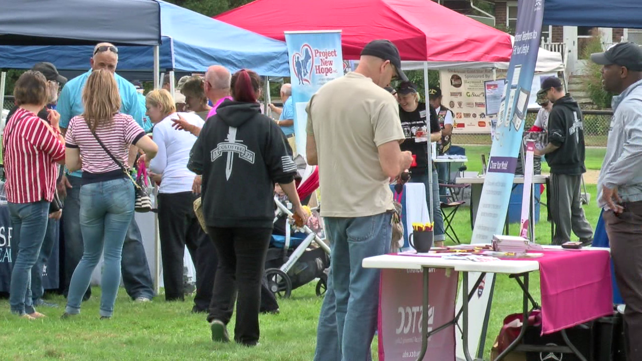 Veterans Picnic in The Park. Make a difference today.  image