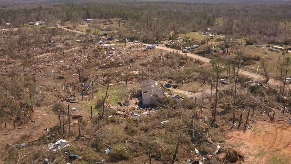 Donate here to help survivors of the  Lee County tornado  image