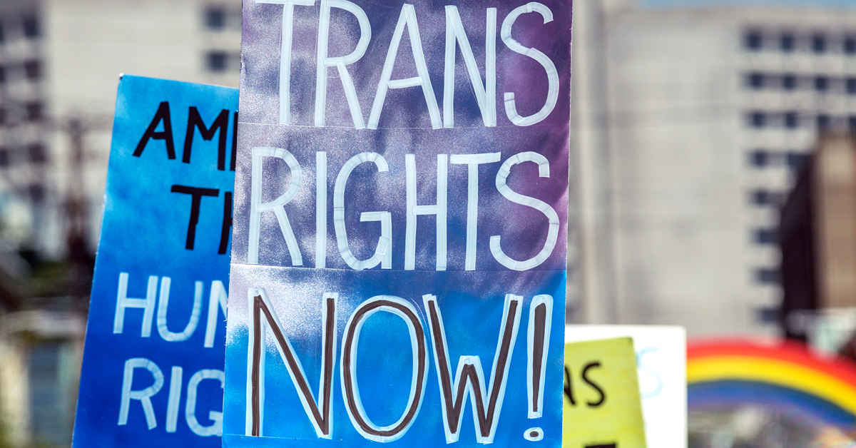 We're more than just a transgender rights organization.  image
