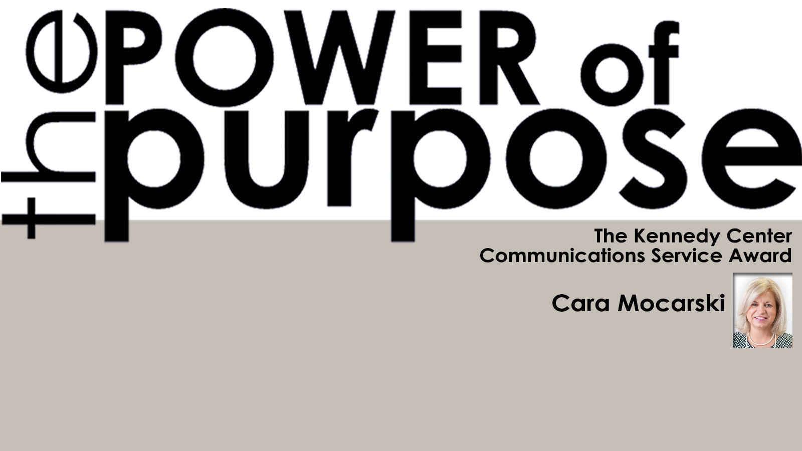 Make a gift to Honor and Congratulate Cara Mocarski, Communications Service Award winner image