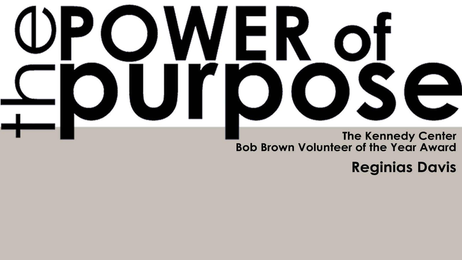 Make a gift to Honor and Congratulate Reginias Davis, Bob Brown Volunteer of the Year Award winner image