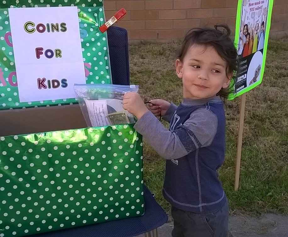 Contribute to Forest View Elementary's Coins For Kids Drive image