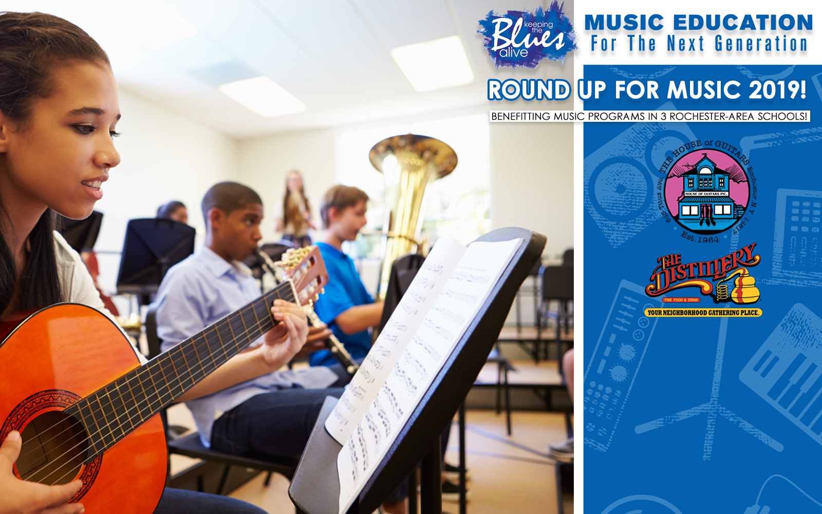 Strengthen Music Education in Rochester Schools! image