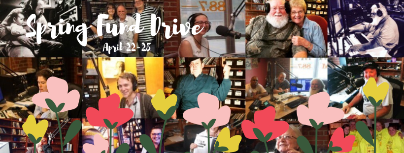 #BeRadioActive - Support WMMT's Spring Fund Drive image