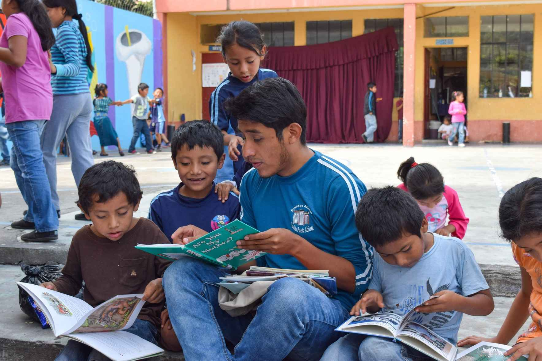 Donate now to share the joy of reading with children, youth, and seniors in Guatemala  image