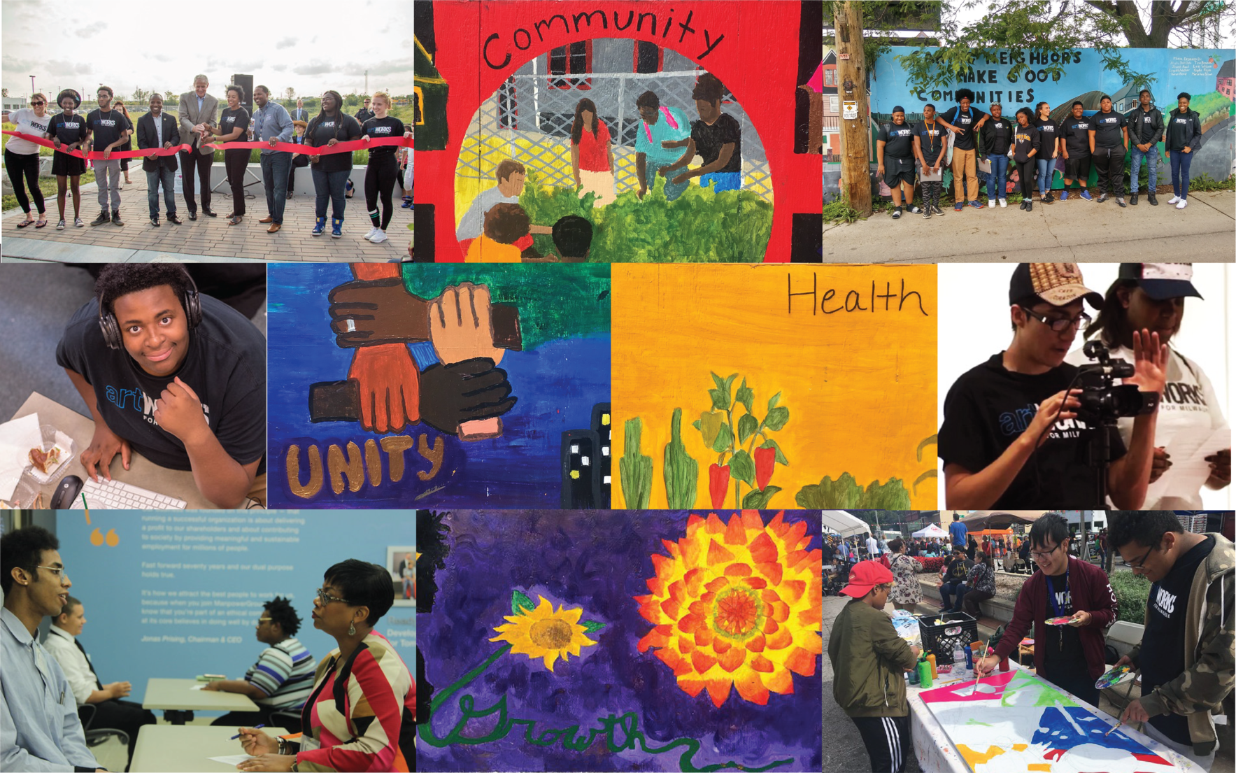Support paid internships for 45 Milwaukee high school students for the rest of 2019! image