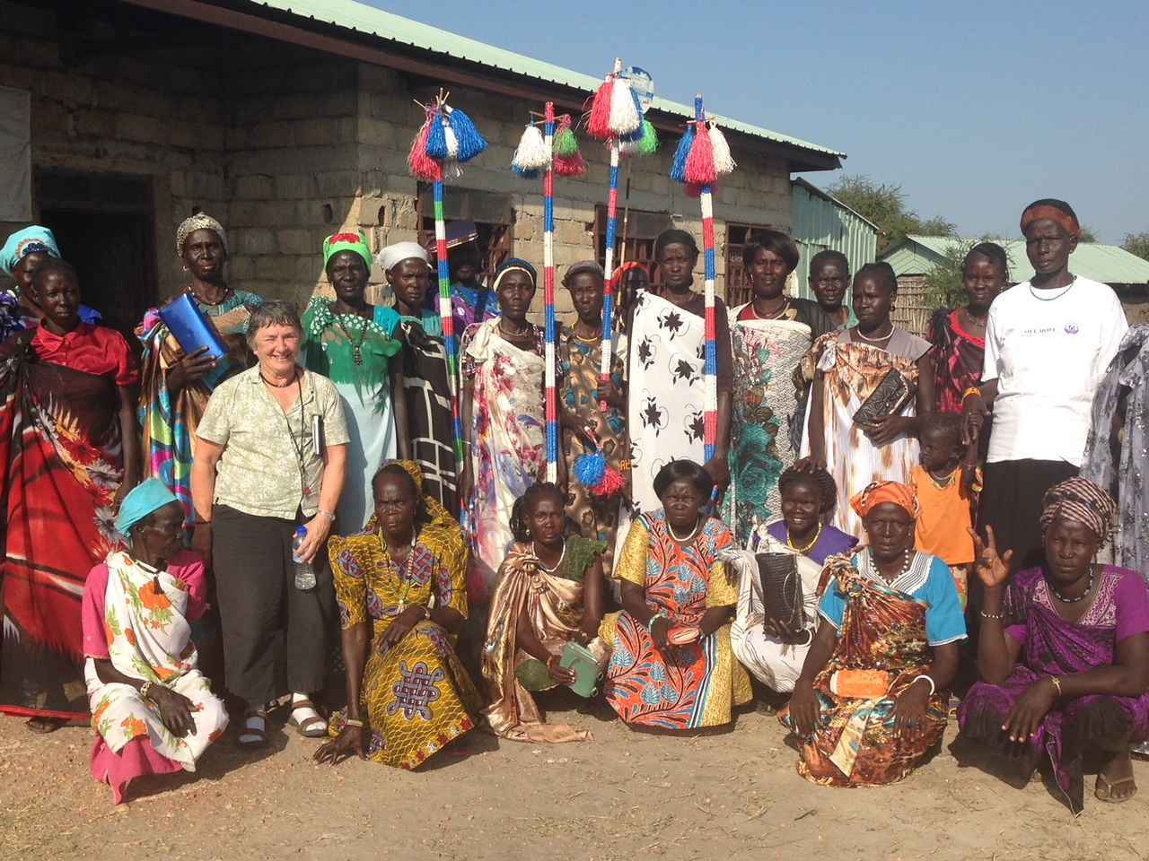 Women at the Center - Empower Women in South Sudan image